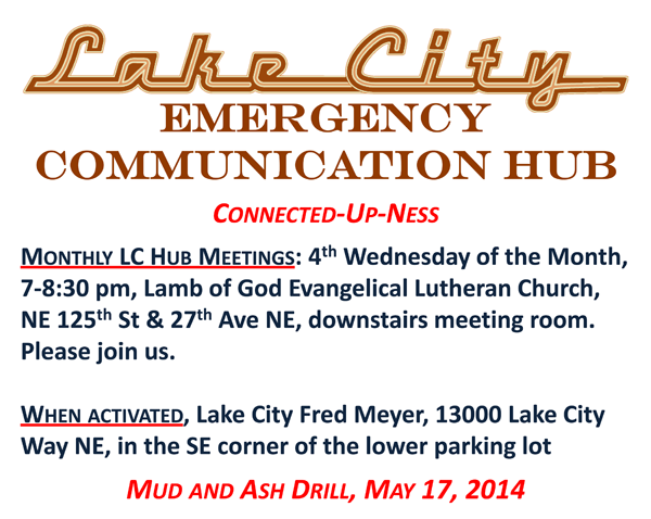 Lake City Emergency Hub prepares for disaster planning